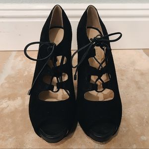 Talbots Lace Up Heels